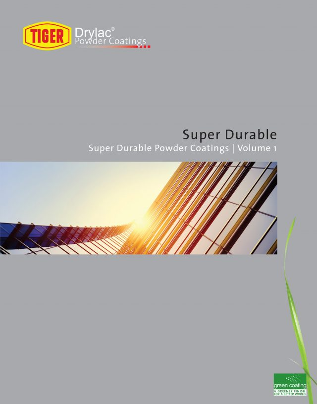 tiger drylac powder coatings volume one