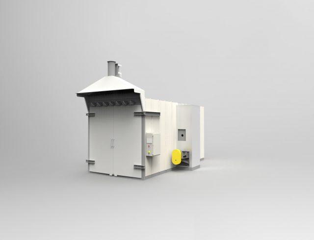 powder coating oven design