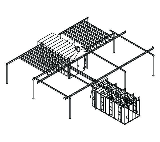 batch powder coating system design